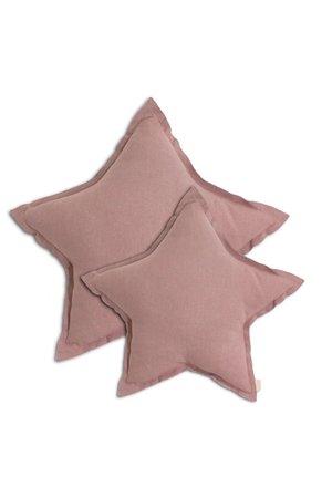Numero 74 Ster kussen  - dusty pink