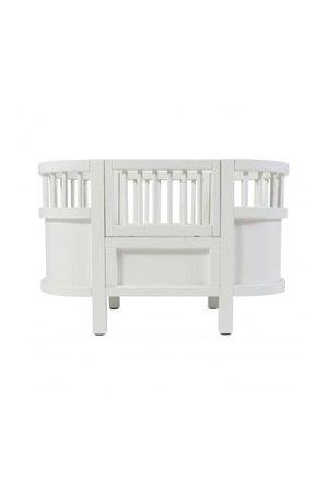 Sebra Sebra dolls bed - white