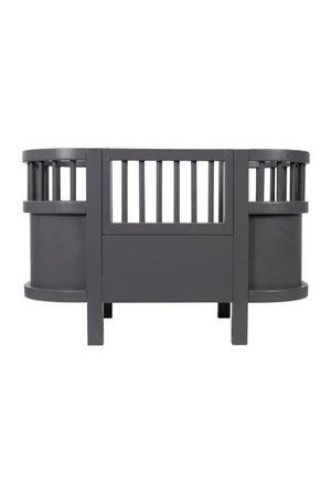 Sebra Sebra dolls bed - dark grey