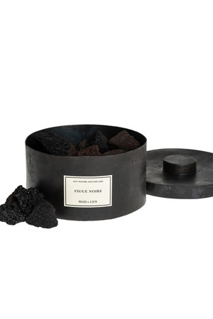 Pot pourri black lava - Figue Noire - large