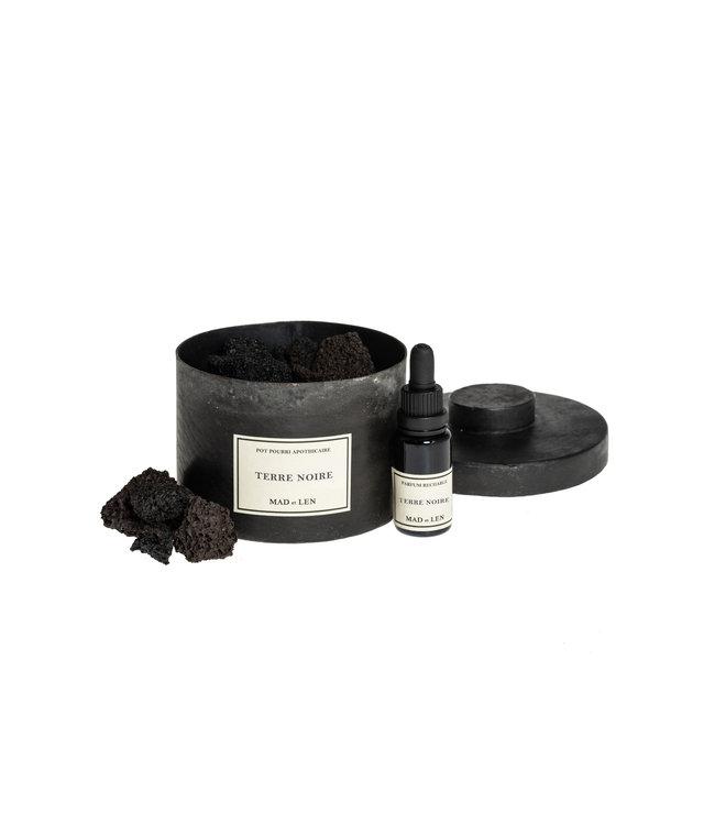 Pot pourri black lava - Terre Noire - small