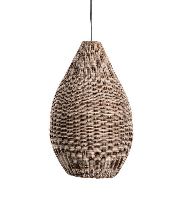 Rattan hanging lamp 'San Agnes'
