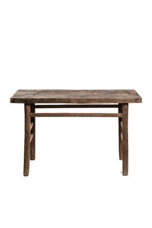 Sidetable elm wood 130cm