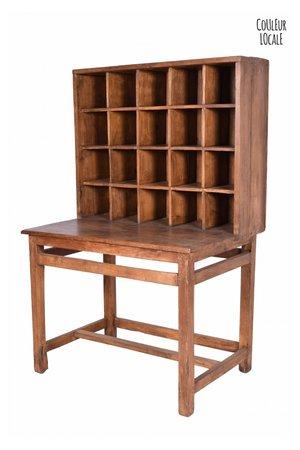 Vintage postal cabinet