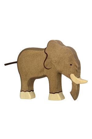 Holztiger wildernis - olifant