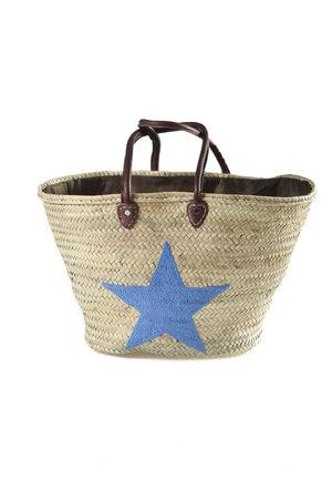 Couleur Locale Shopper 'blauwe ster'
