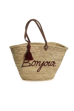 Couleur Locale Shopper 'bonjour'