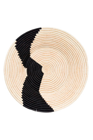 Ugandan raffia plate  IX