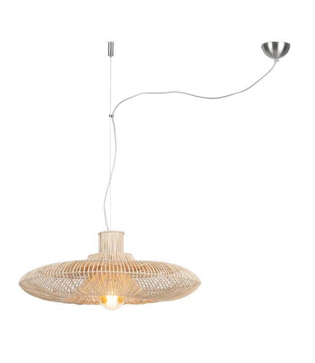 Rattan suspension lamp Kalahari