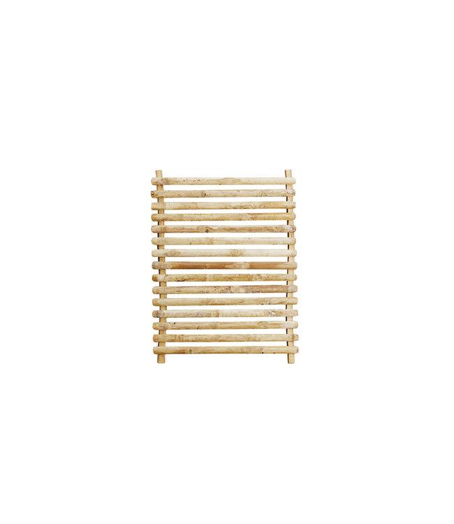 Bamboo wall hanger deco S - natural
