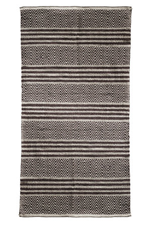 Tine K Home Carpet with hand woven pattern in herringbone and stripes