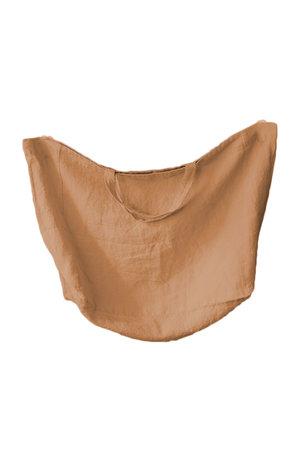 Linge Particulier Linen carry bag - moka