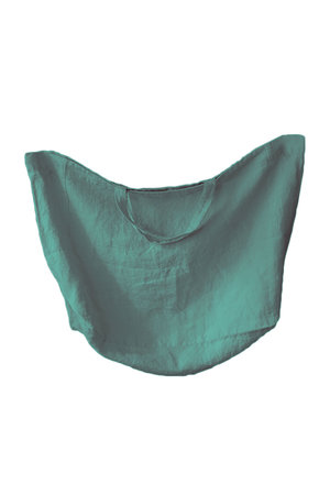 Linge Particulier Linen carry bag - sage