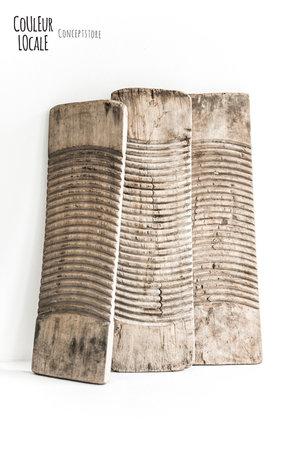 Oude houten wasplank