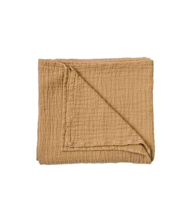 Straw muslin swaddle blanket