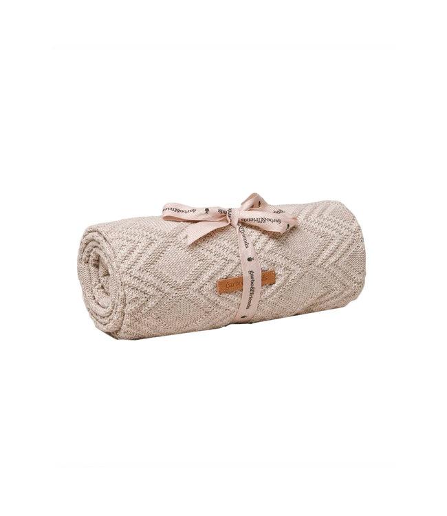Ollie cotton blanket - sand
