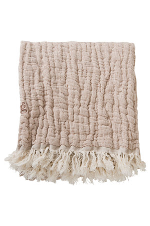 garbo&friends Mellow Tawny throw