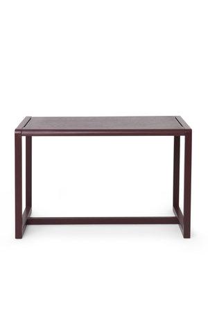 Ferm Living Little architect table - bordeaux