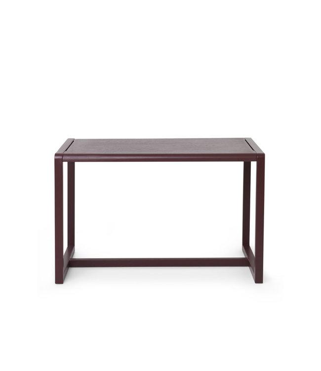 Little architect table - bordeaux