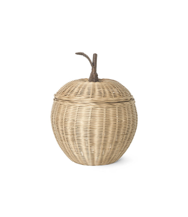 Ferm Living Opbergmand 'Appel' - naturel