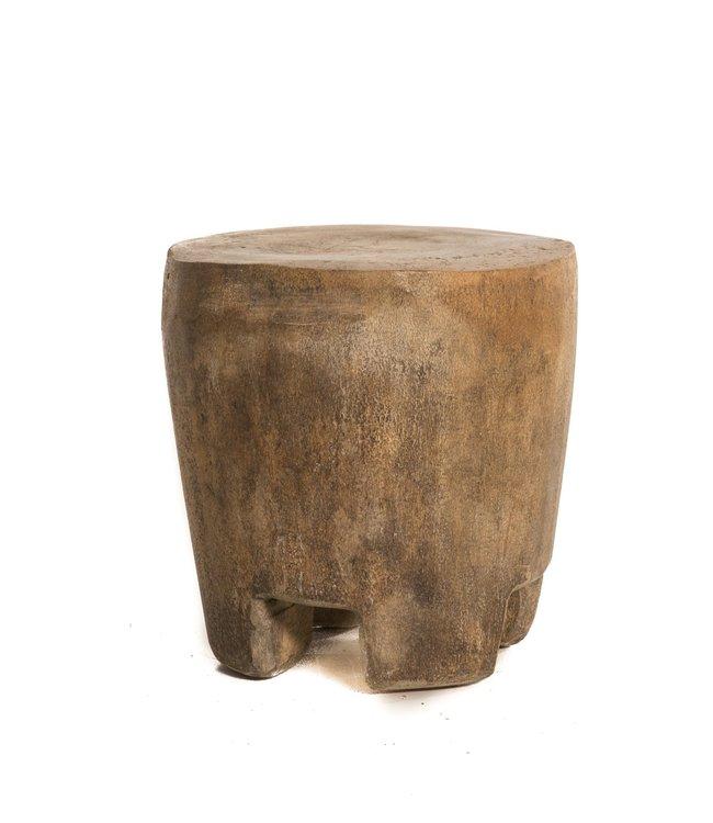 Tabouret Tabla - bois de palmier