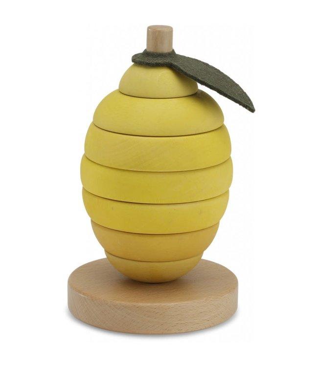 Stacking fruits - lemon