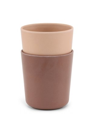 Konges Sløjd 2 pack cup - sahara/morrocan rose