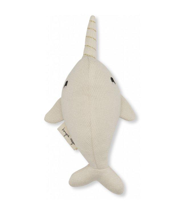 Mini nar whale - off white