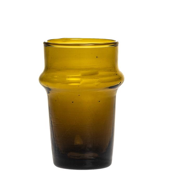 Beldi tea glass B3 amber