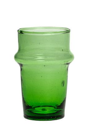 Beldi tea glass  green