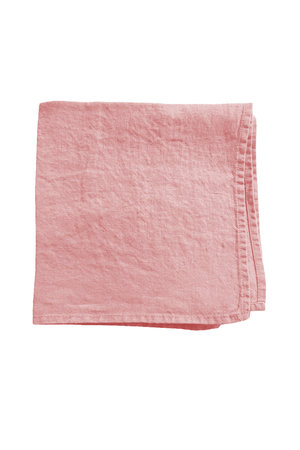 Linge Particulier Napkin linen - lychee