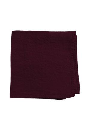 Linge Particulier Napkin linen - burgundy