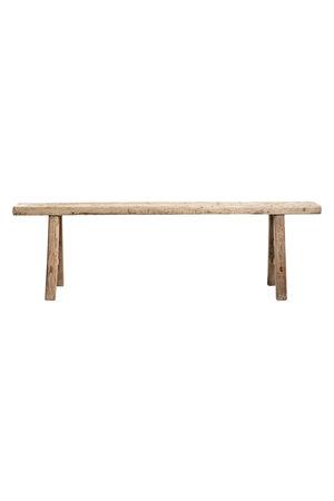 Bench elm wood 176cm