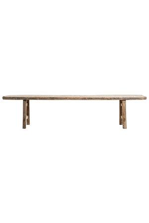 Bench elm wood 222cm