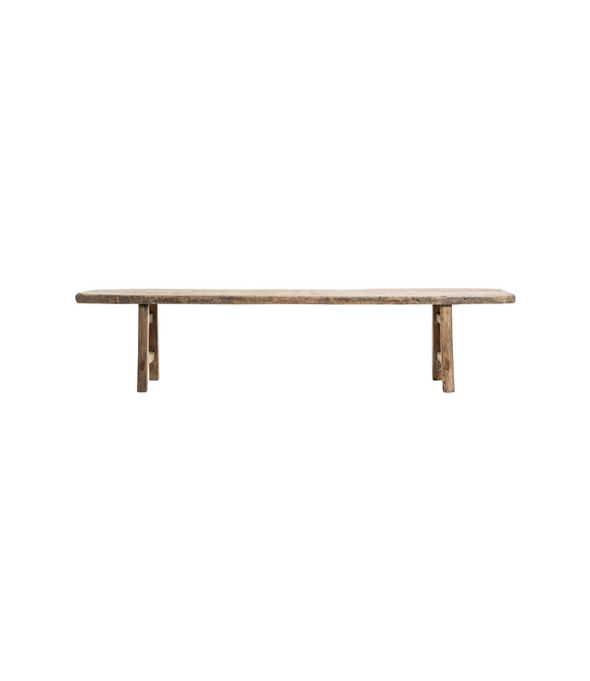 Bench elm wood 222cm