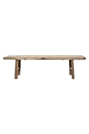 Bench elm wood 189cm