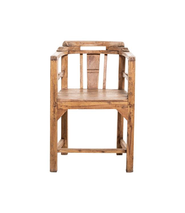 Old dining chair - teak