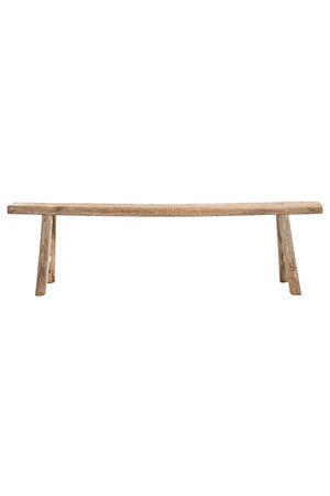 Bench elm wood 186cm