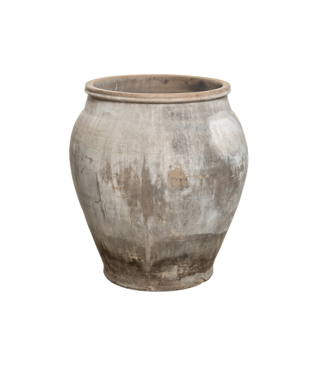 Old jar - grey