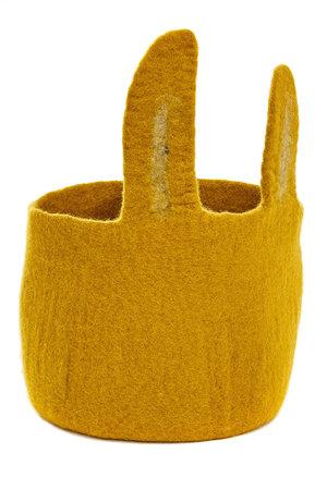 Pasu felt basket Bunny - different colors