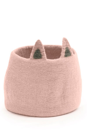 Pasu felt basket  Foxy - different colors