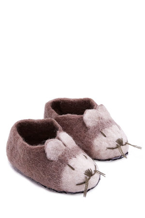 Slipper mouse - grey