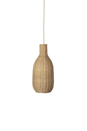 Ferm Living Hanging lamp 'bottle'