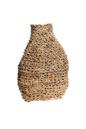 Vase abaca - natural