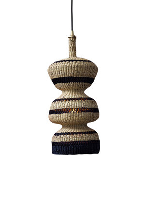 Hanglamp '3 tier' - naturel/midnight