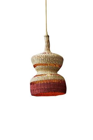 Hanglamp '2 tier' - naturel/ginger