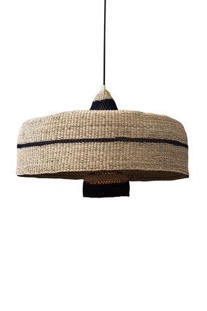 Hanglamp 'deeply & 3 tier' - naturel/midnight
