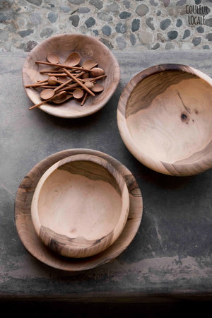 Couleur Locale Salad bowl - walnut