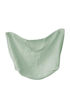 Linge Particulier Linen carry bag - pistache