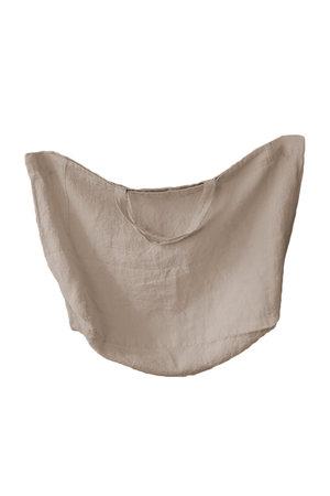 Linge Particulier Linen carry bag sand